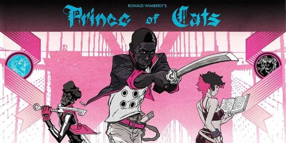 Graphic Novel Prince of Cats