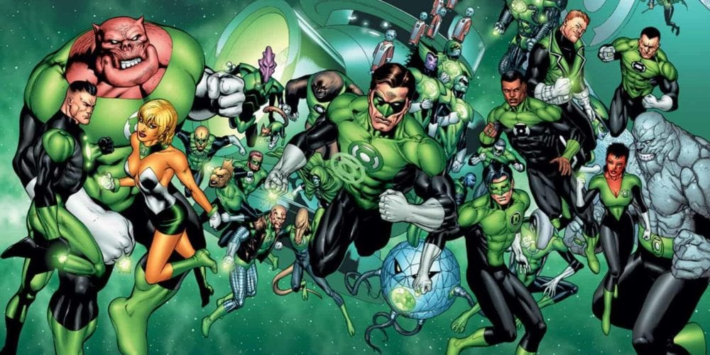 Green Lantern Corps, JJ Abrams, Greg Berlanti, Director, Warner Bros, DC Comics