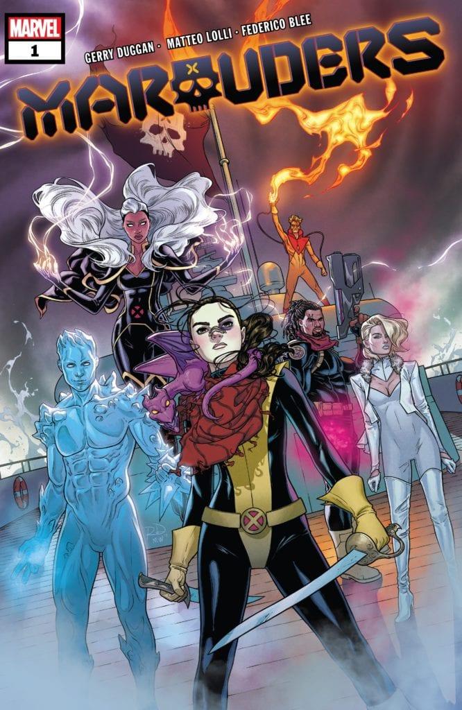 Marauders, Gerry Duggan, Marvel Comics, X-Men