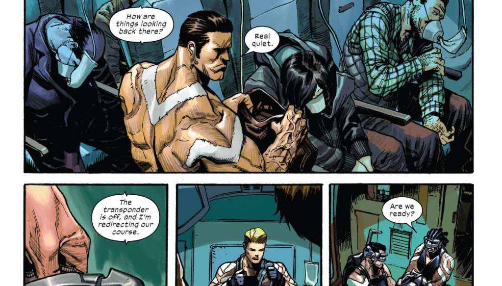 Domino, X-Force, Benjamin Percy, X-Men, Dean White