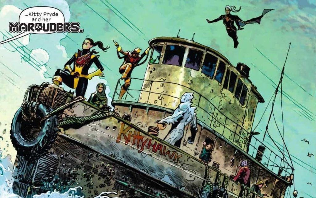 Marauders, Kitty Pryde, Iceman, Storm, X-Men, X-Force, Benjamin Percy, Gerry Duggan