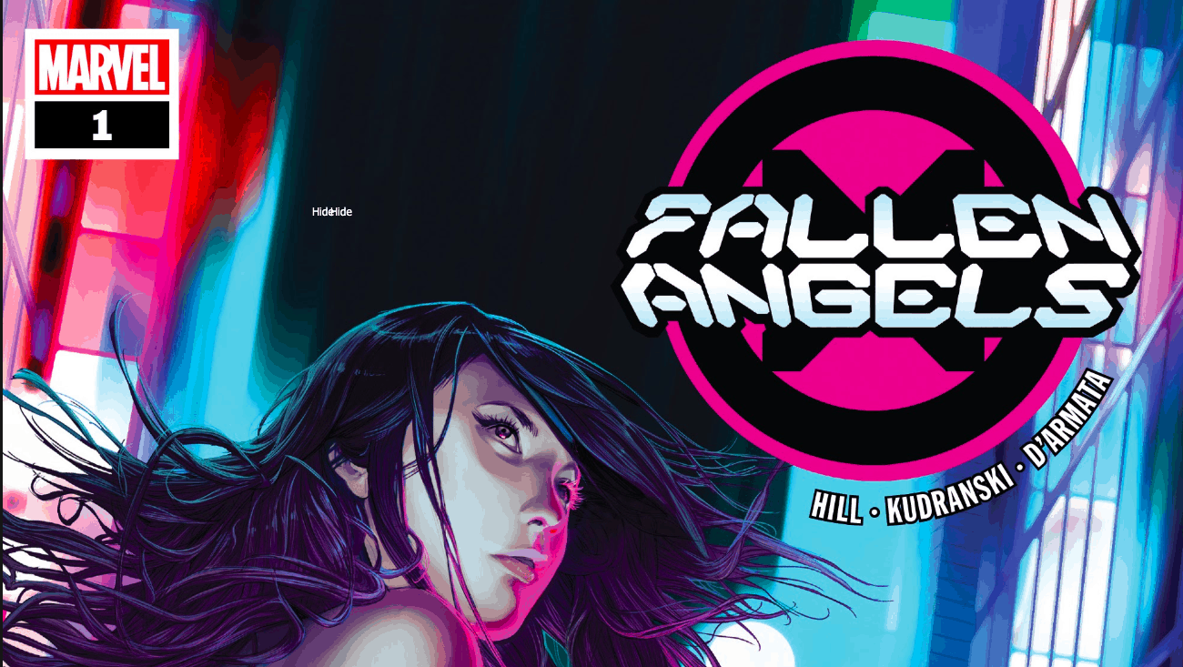 Fallen Angels, Brian Hill, Marvel Comics, Dawn of X