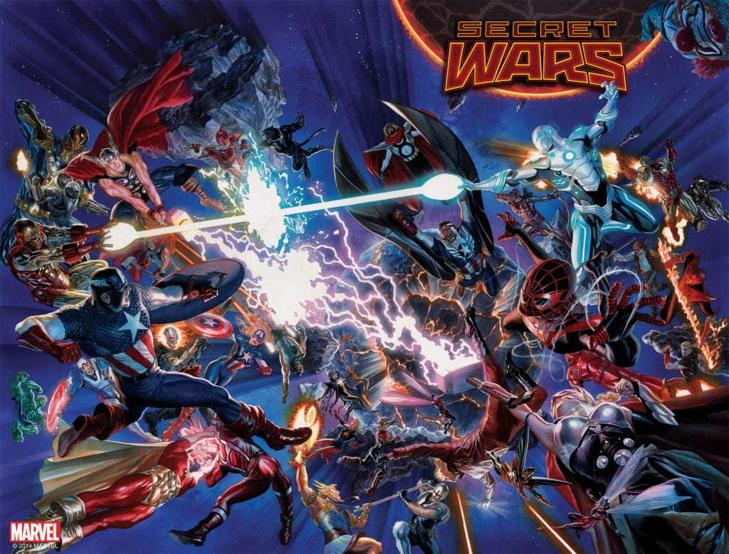 Secret Wars, Fantastic Four, Avengers, Jonathan Hickman, Marvel Comics