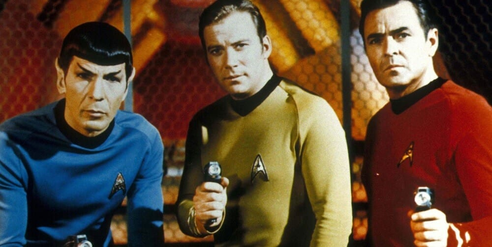 Star Trek Star Wars Rivalry Original Series Kirk Spock Scotty