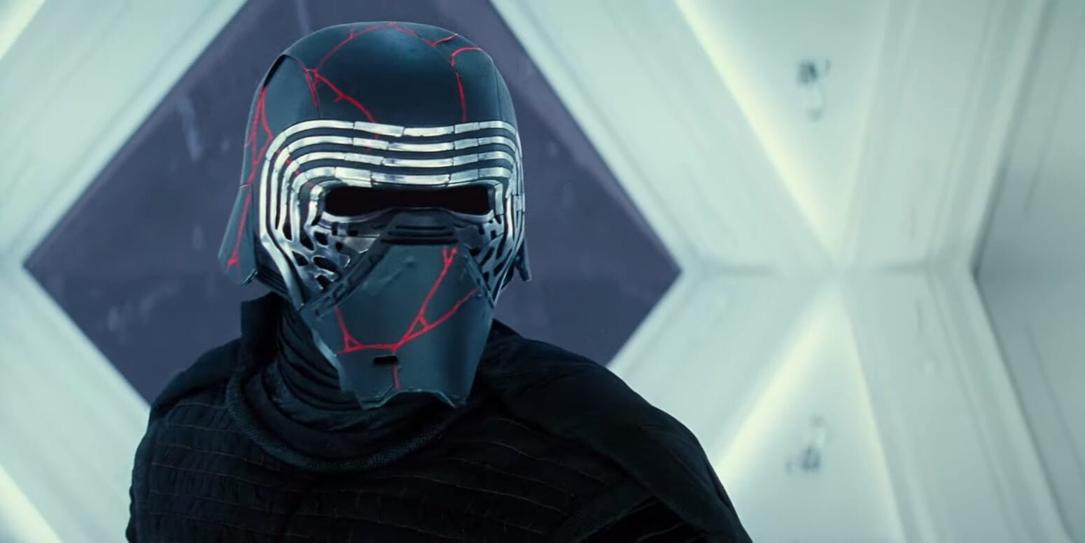 Star Wars Rise of Skywalker First TV Spot NEw Footage Featured Kylo Ren Mask