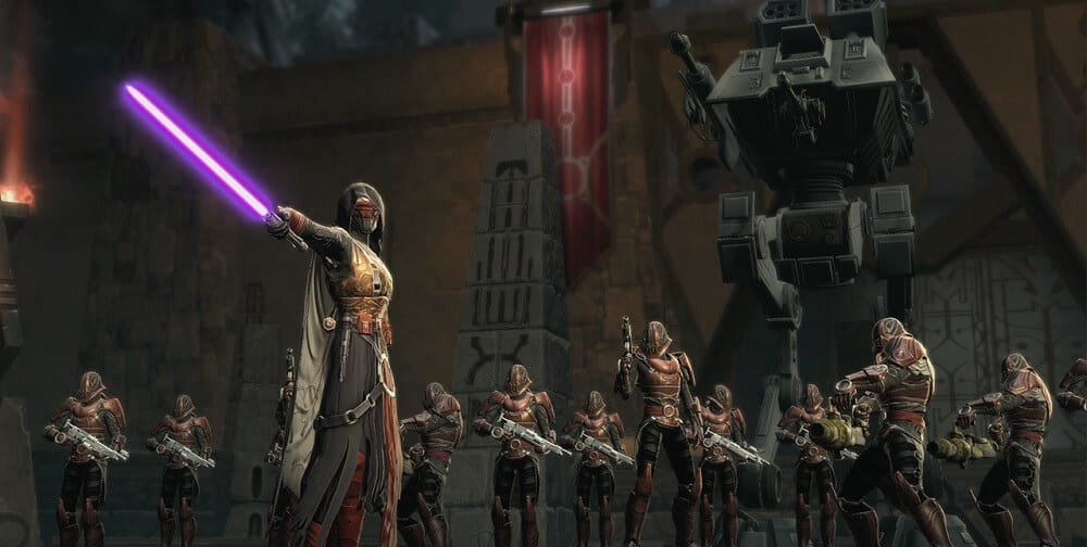 Star Wars the Old Republic Onslaught Revan Up to His Tricks
