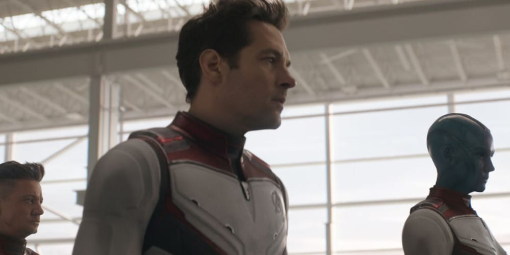Paul Rudd as Ant-Man in Avengers: Endgame