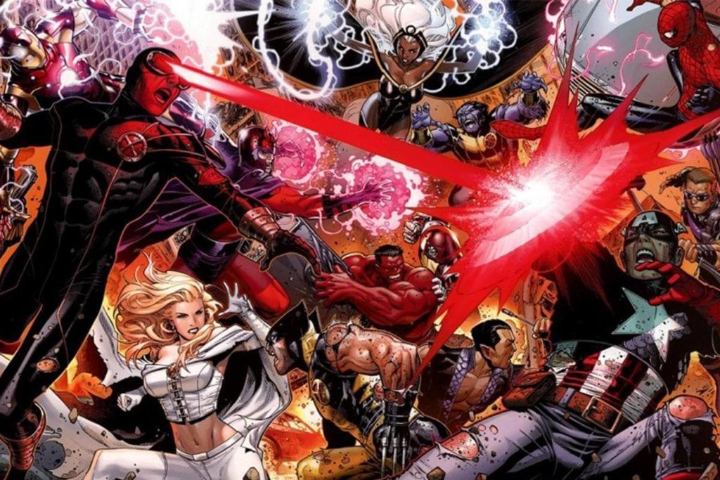 Avenger Vs. X-Men, X-Men, Avengers, Marvel Decade