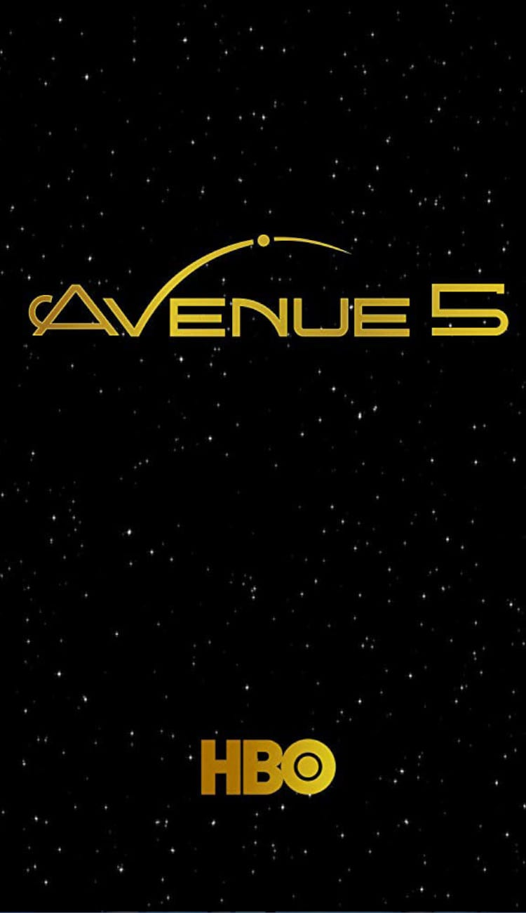 HBO's Avenue 5 poster