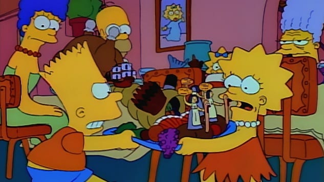 The Simpsons Thanksgiving Special