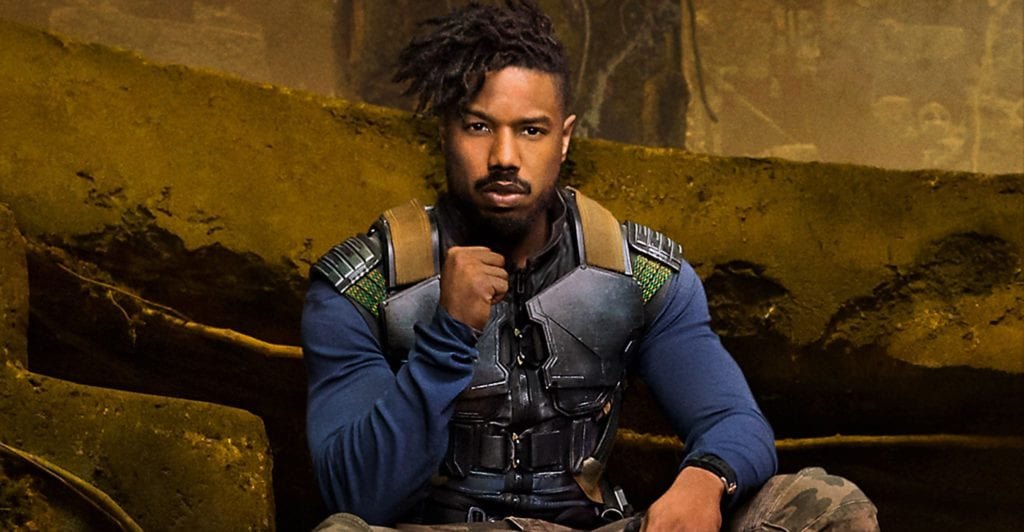 Black Panther, Killmonger, Marvel Studios, Michael B. Jordan