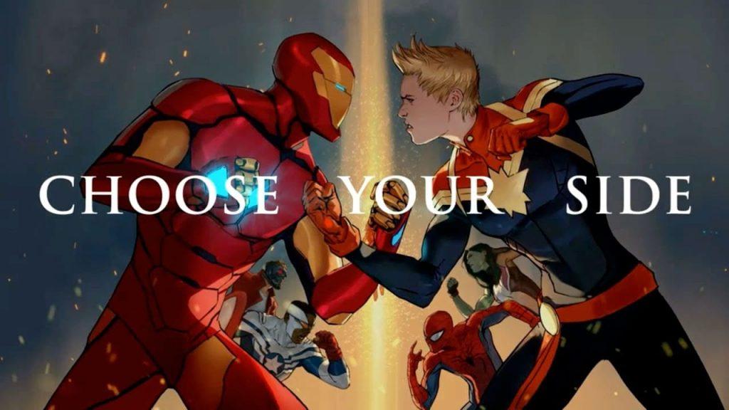 Civil War II, Marvel Comics, Captain Marvel, Iron Man
