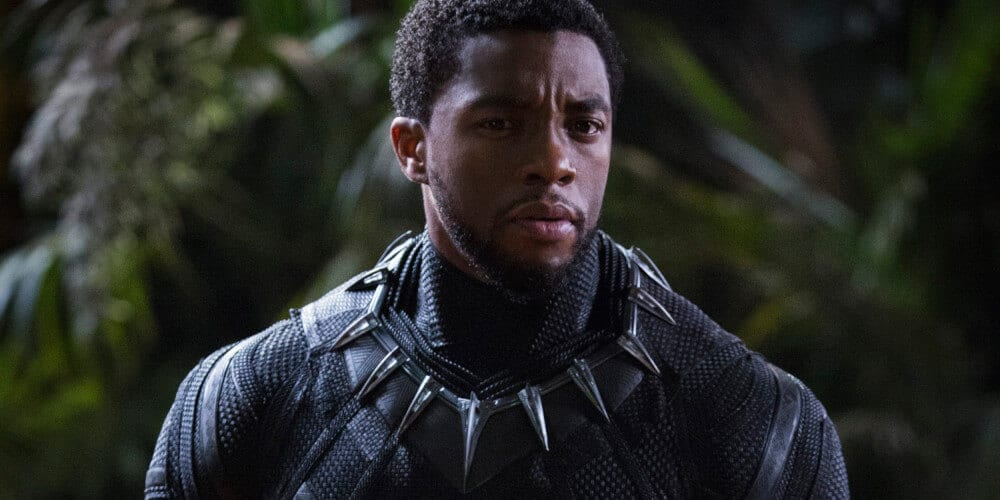 Chadwick Boseman as Black Panther in the MCU