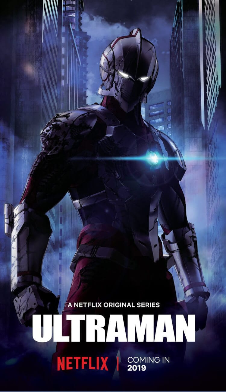 Poster for Netflix Original Anime Ultraman