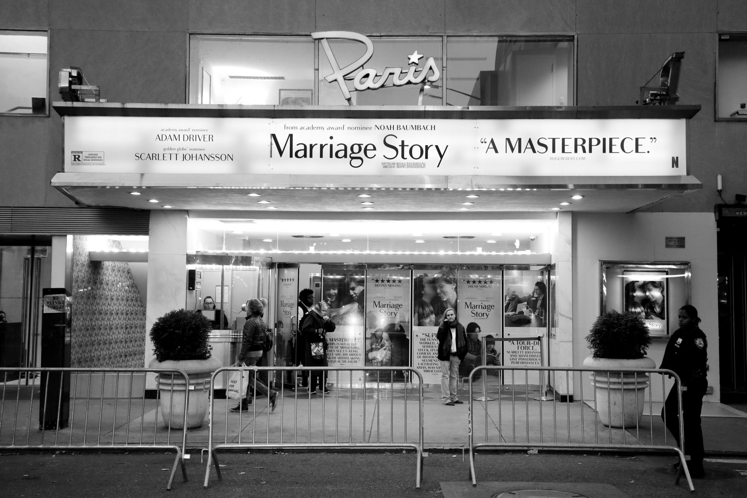 Marriage Story by Netflix at Paris Theatre