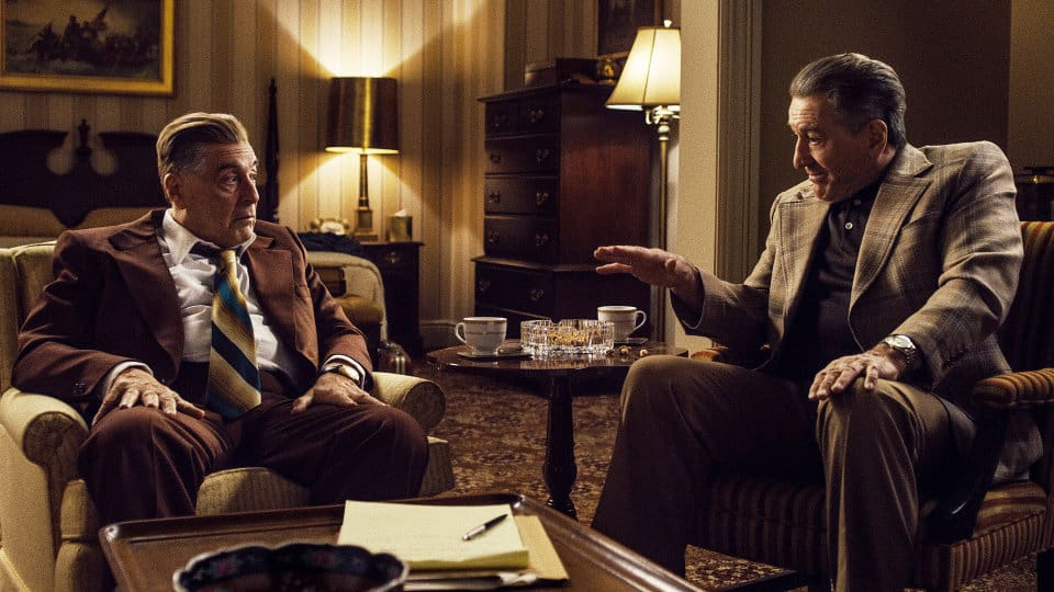 The Irishman Up For an Academy Award