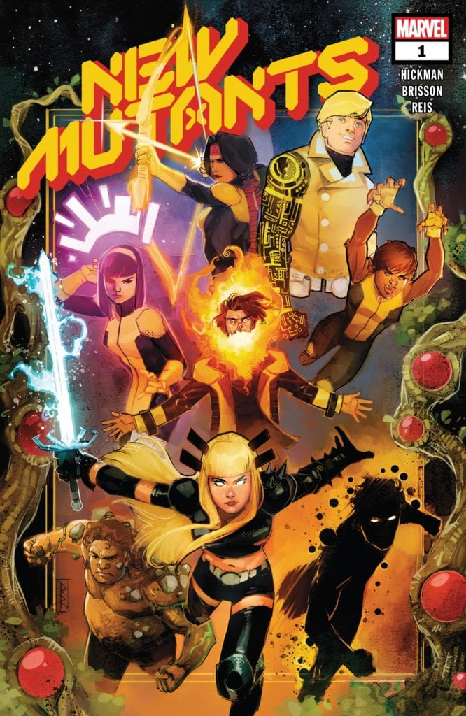 New Mutants, Ed Brisson, Jonathan Hickman, Dawn of X Titles, Marvel Comics, X-Men