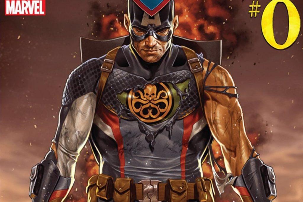 Secret Empire, Marvel Decade Event, Captain America, Hydra