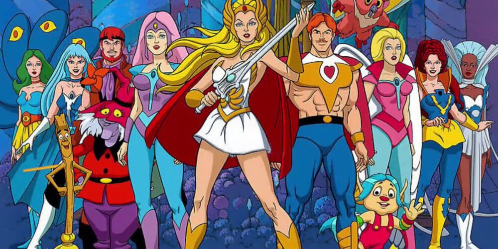 Original Poster of She-Ra from The 80's.