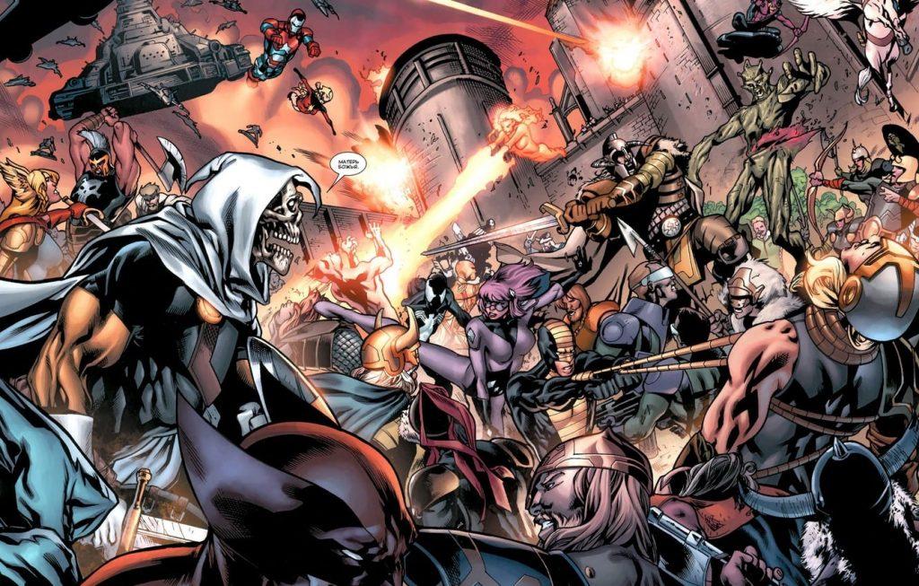 Siege, Brian Michael Bendis, Marvel Events