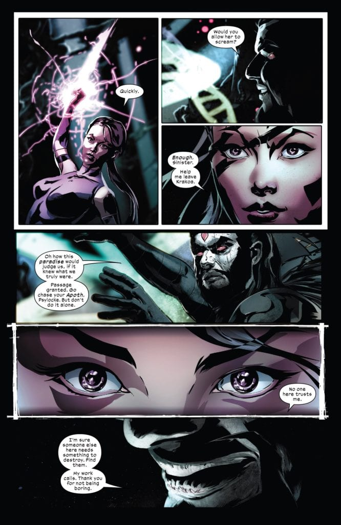 Mr. Sinister, Psylocke, Brian Hill, Dawn of X
