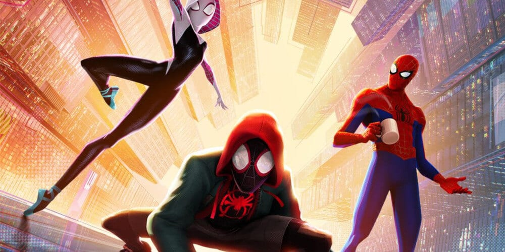 Poster from Spider-Man: Into The Spider-Verse