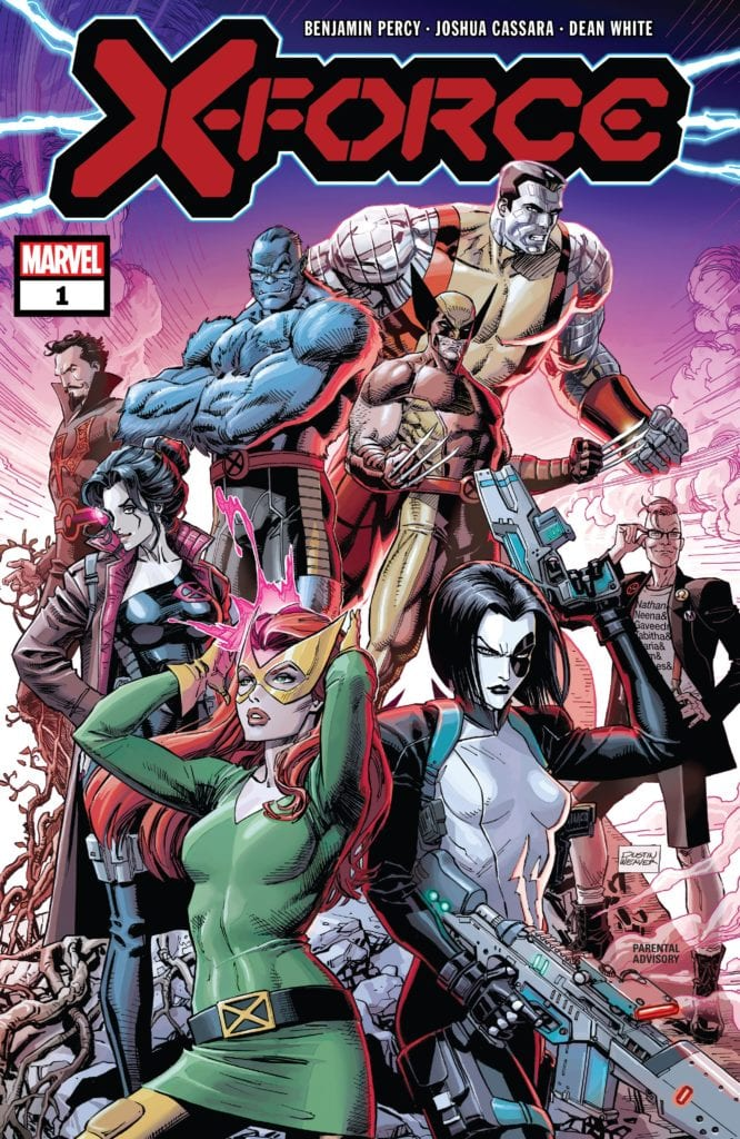 X-Force, Benjamin Percy, Marvel Comics, Wolverine