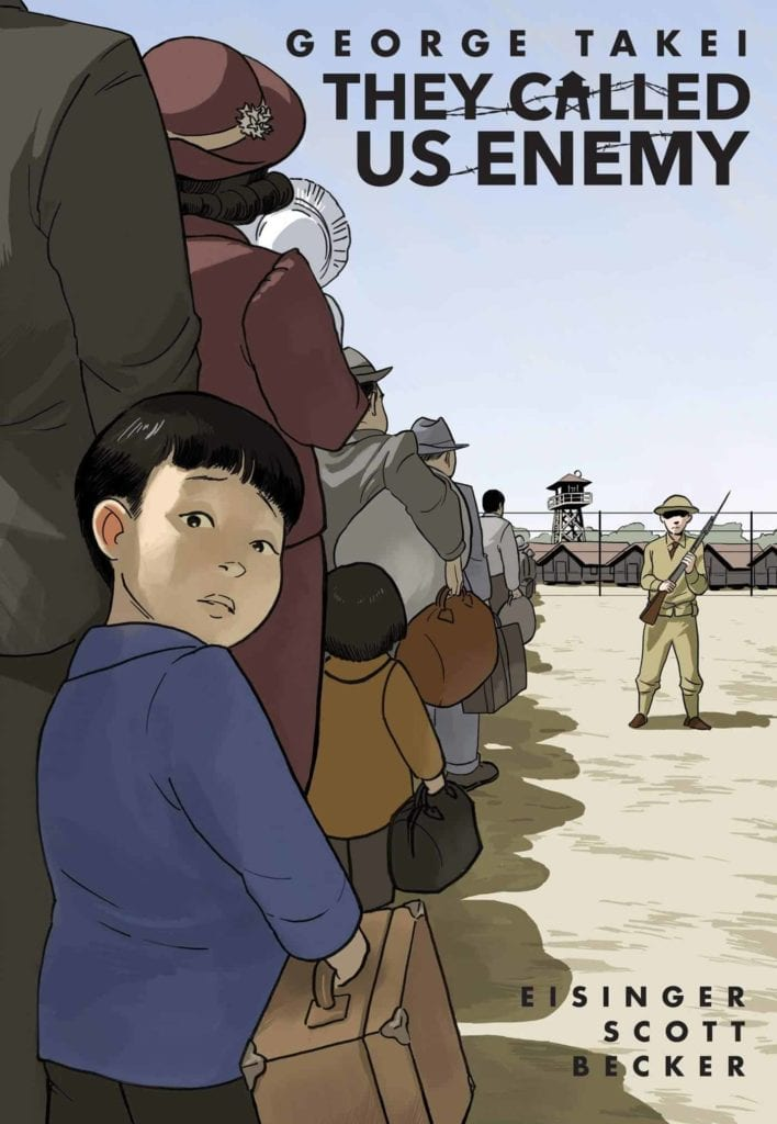 George Takei, The Called Us Enemy, Important Graphic Novels, Decade