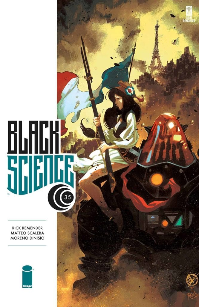 Rick Remender, Black Science, Image Comics, Best Indie Comics Decade