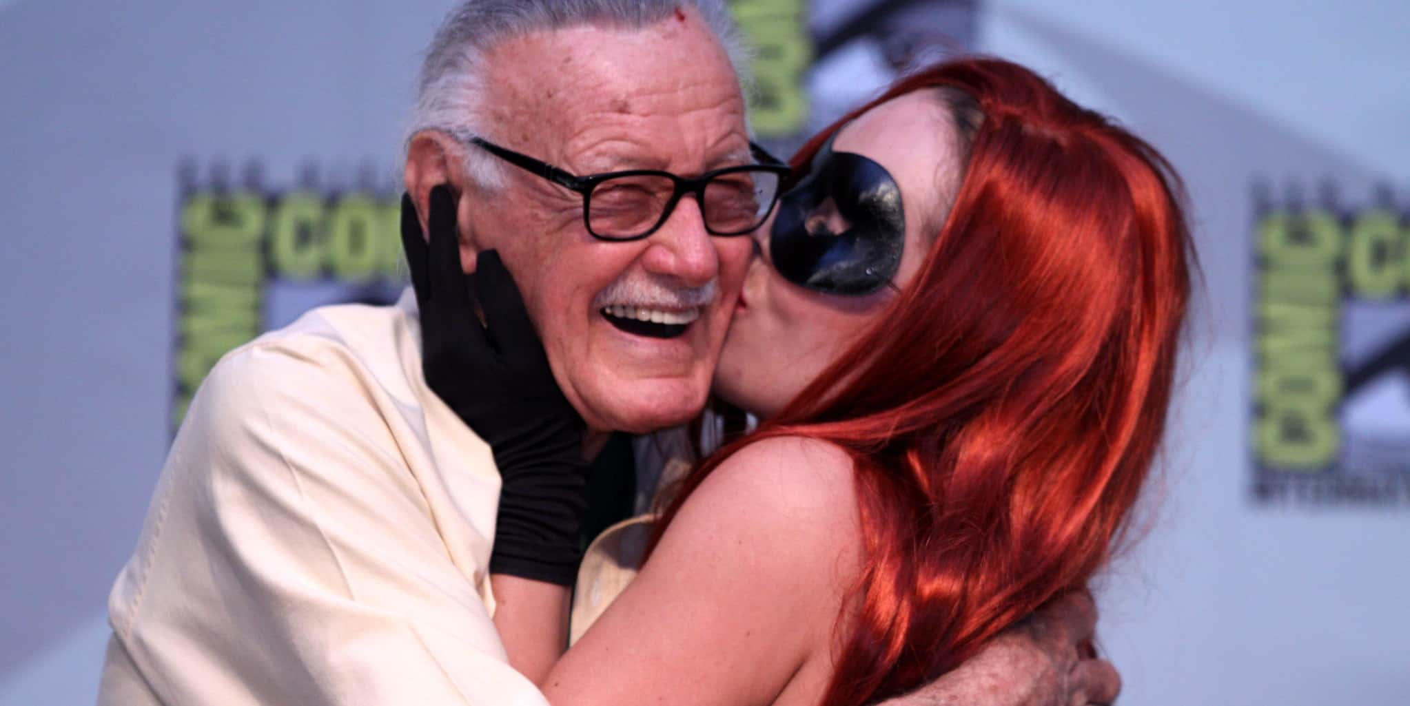 Celebrating Stan Lee Cosplay Kiss 2010 SDCC Gage Skidmore Featured