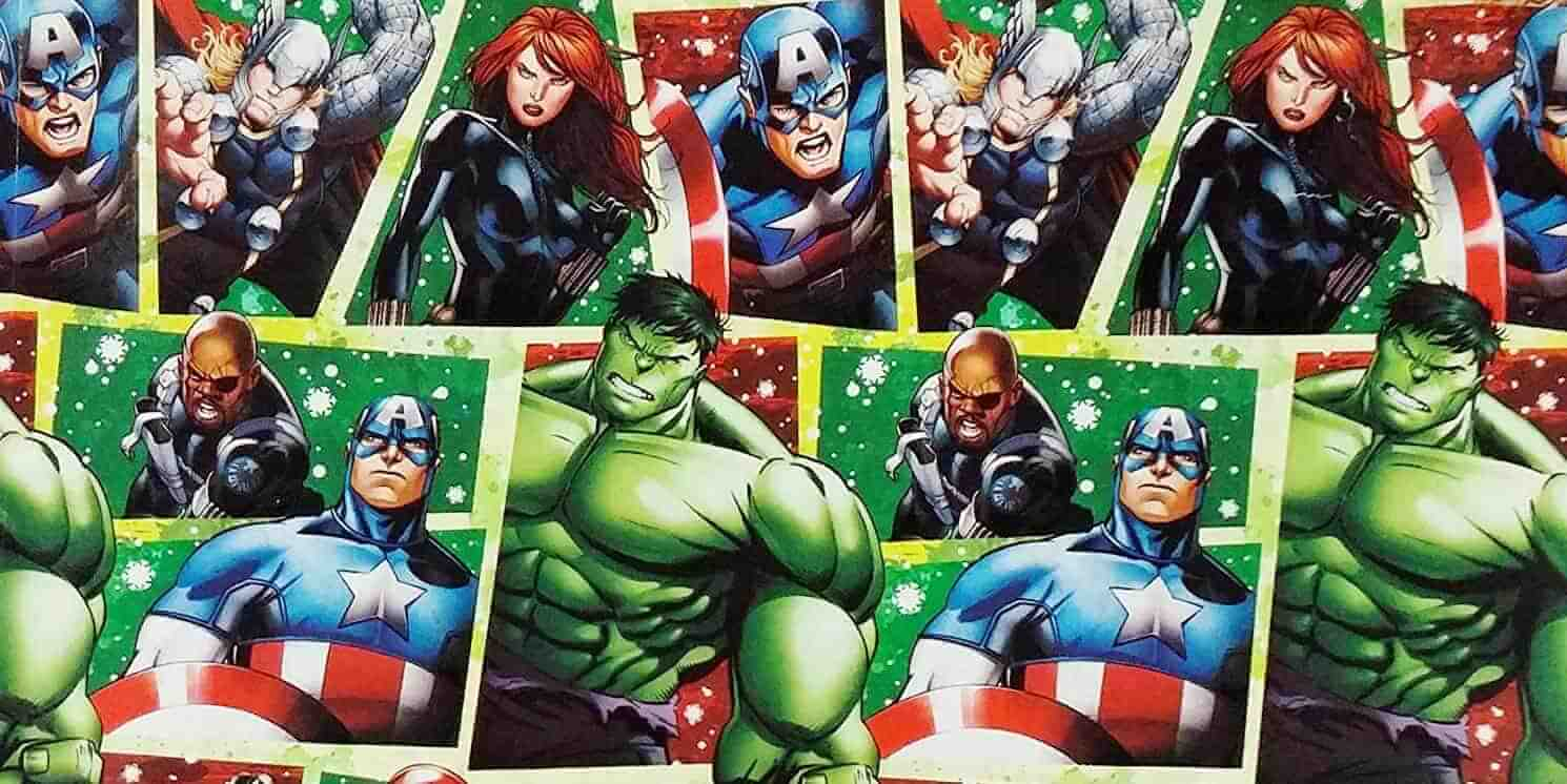 Francesca Scorsese Martin Marvel Wrapping Paper Amazon Paper pattern