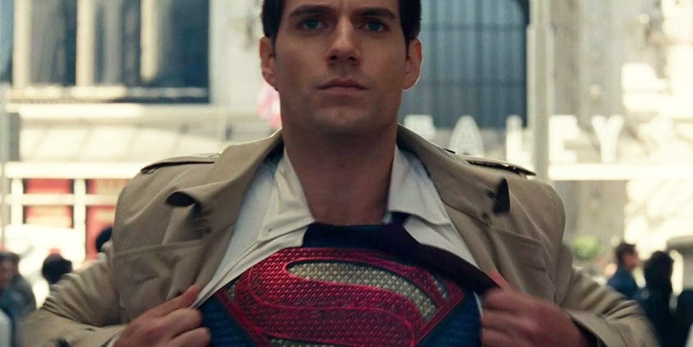 Henry Cavill Snyder Cut Future Superman Shirt Open