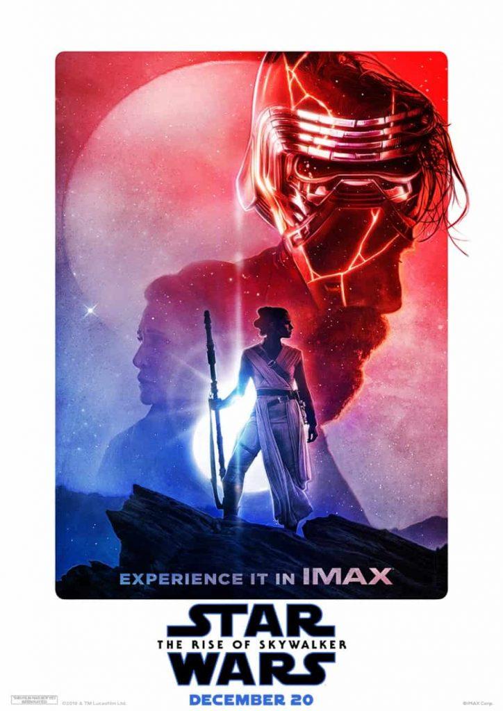 Star Wars, Rise of Skywalker, IMAX, JJ Abrams, Kylo Ren