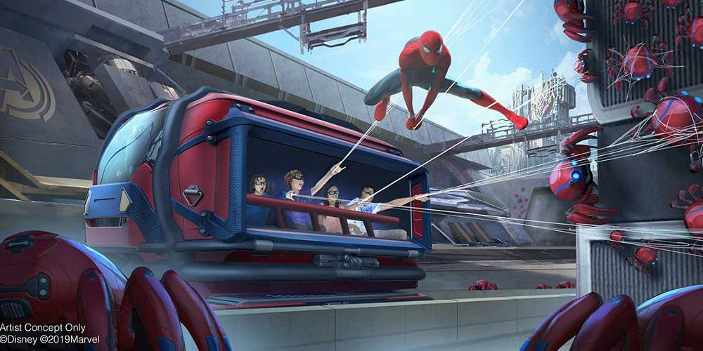 Marvel's Avengers Campus Disney California Adventure Park
