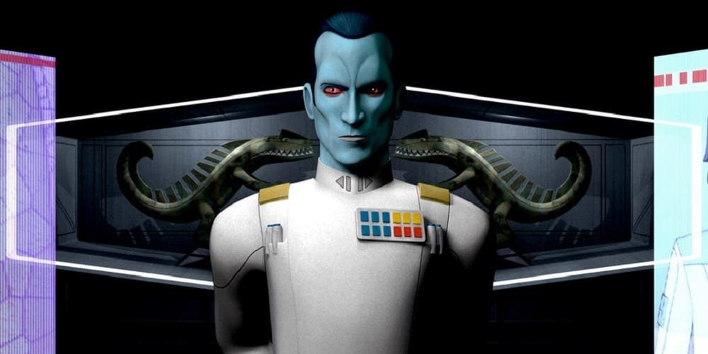 Next STar WArs movie 2022 Thrawn Chiss Rebels