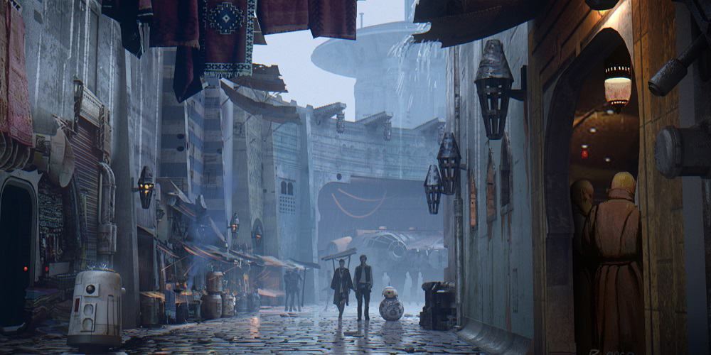 Next STar Wars Movie 2022 Brand New Concept ARt Lucasfilm
