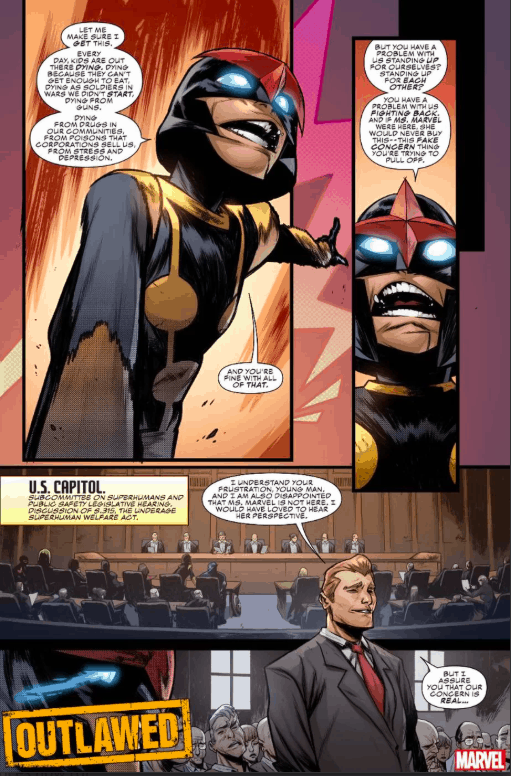 Marvel Comics, Outlawed, Nova