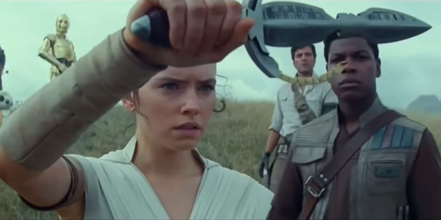 Star WArs Rise of Skywalker Movie Leaks Rey Dagger