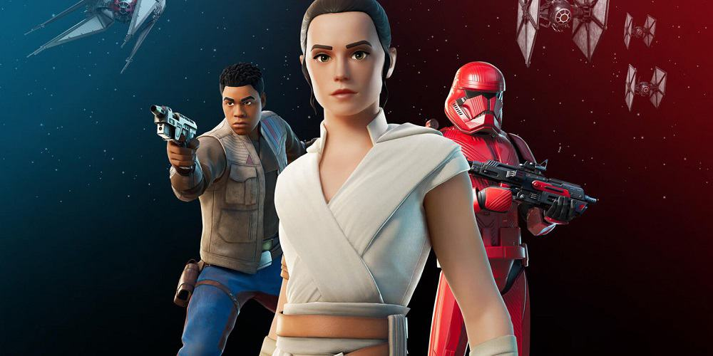 Star Wars Fortnite Event Characters