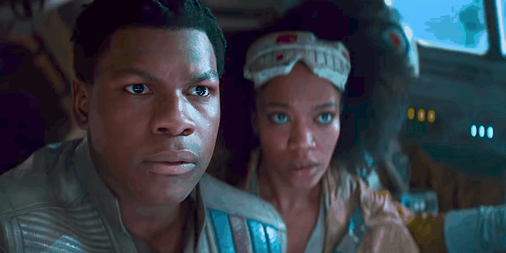 Star Wars Rise of Skywalker First Reactions Boyega and Ackie Finn and Jannah Black Lives Matter Speech
