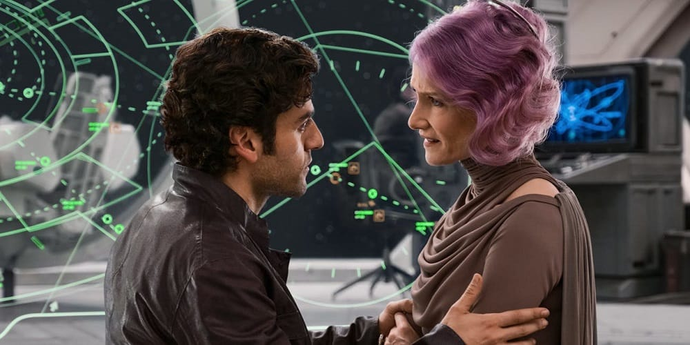 Star Wars The Last Jedi Backlash Poe and Holdo