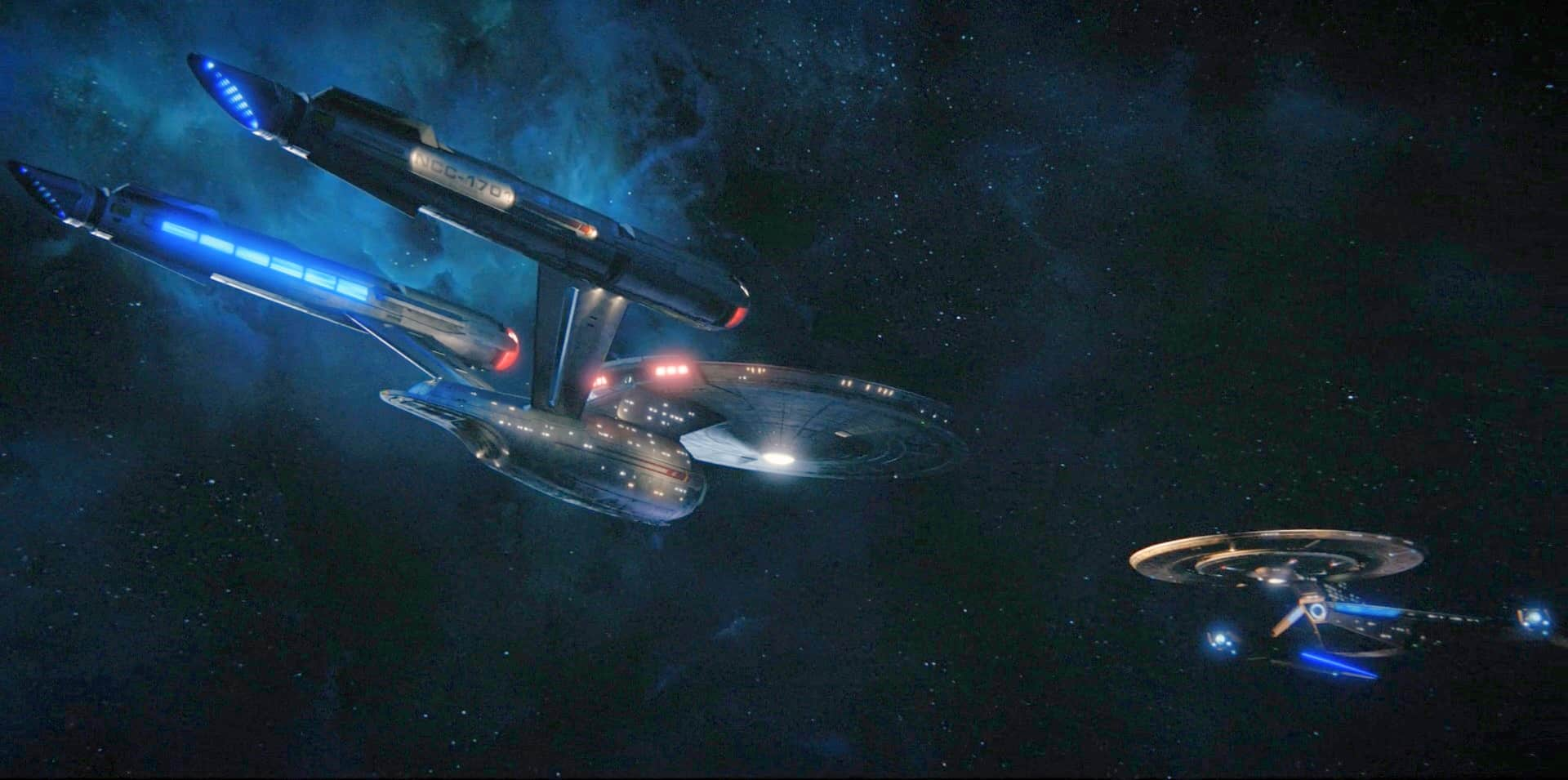 ViacomCBS deal reunites Star Trek Discovery and the Enterprise