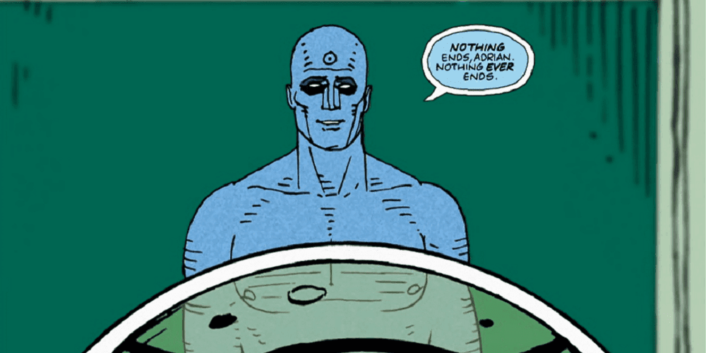 Watchmen HBO Dr. Manhattan Nothing Ever Ends