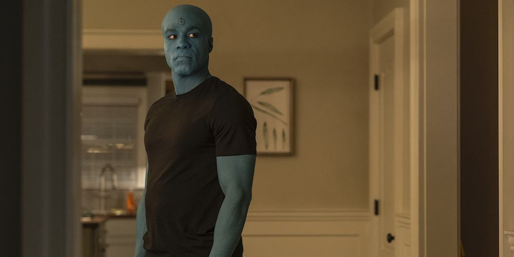 Watchmen HBO Dr. Manhattan Yayha Abdul-Mateen II in Costume