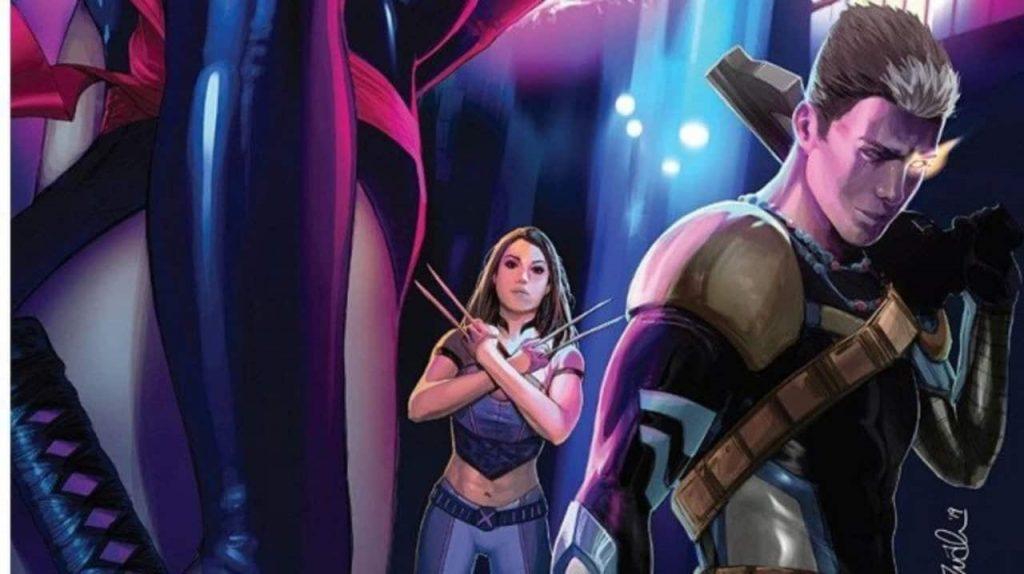 Fallen Angels, Psylocke, Cable, X23, Bryan Hill, X-Men, Dawn of X