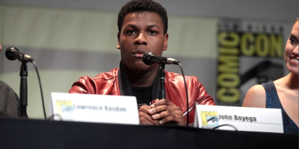 Image from Comic Con of John Boyega's Anime