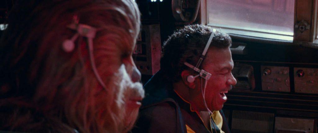 Lando Calrissian, Chewbacca, Millenium Falcon, Star Wars, Han Solo