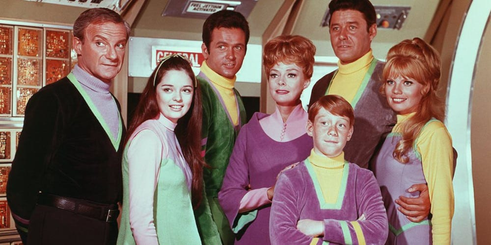 Lost In Space original cast.