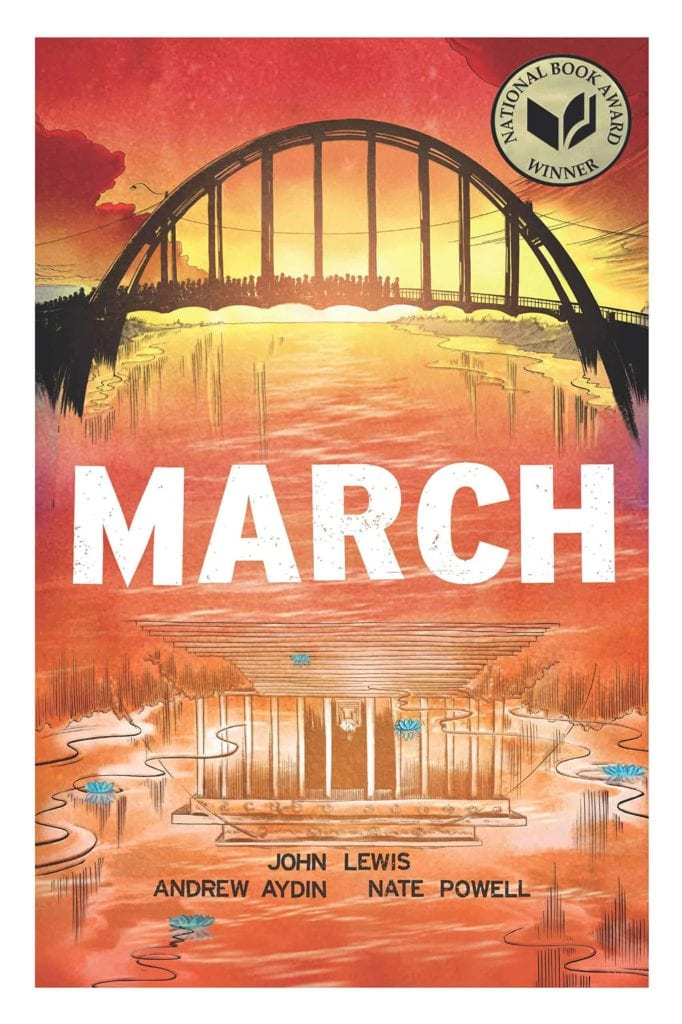 John Lewis, March Trilogy, Best Indie Comics Decade