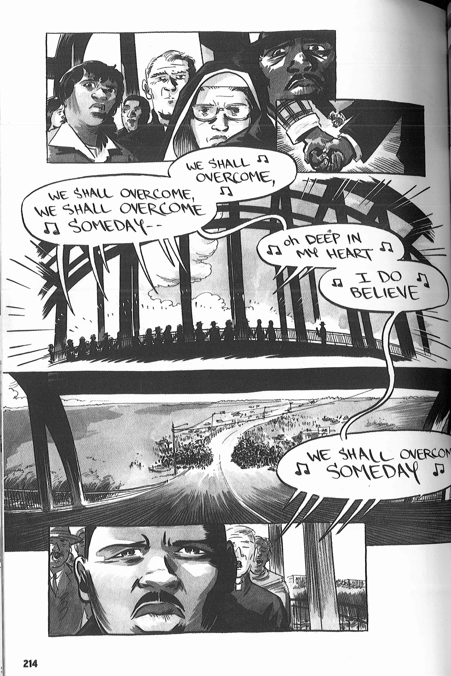 March Trilogy, John Lewis, Important Graphic Novels